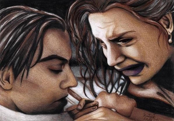 Kate Winslet, Leonardo DiCaprio por Katie